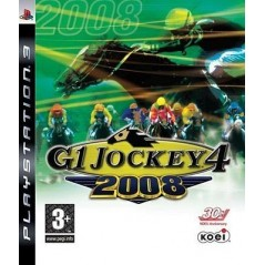 G1 JOCKEY 4 2008 PS3 UK NEW