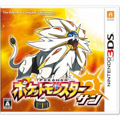 POKEMON SUN 3DS JAPONAIS OCCASION