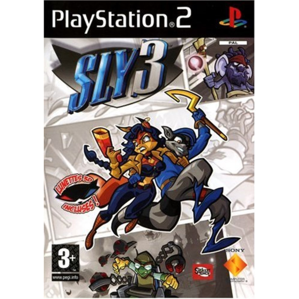 SLY 3 PS2 PAL-FR OCCASION