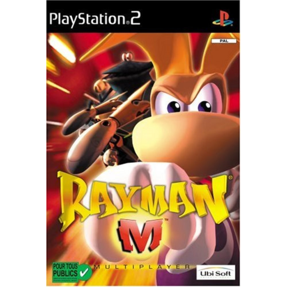 RAYMAN M PS2 PAL-FR OCCASION