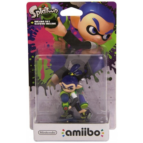 AMIIBO SPLATOON BOY