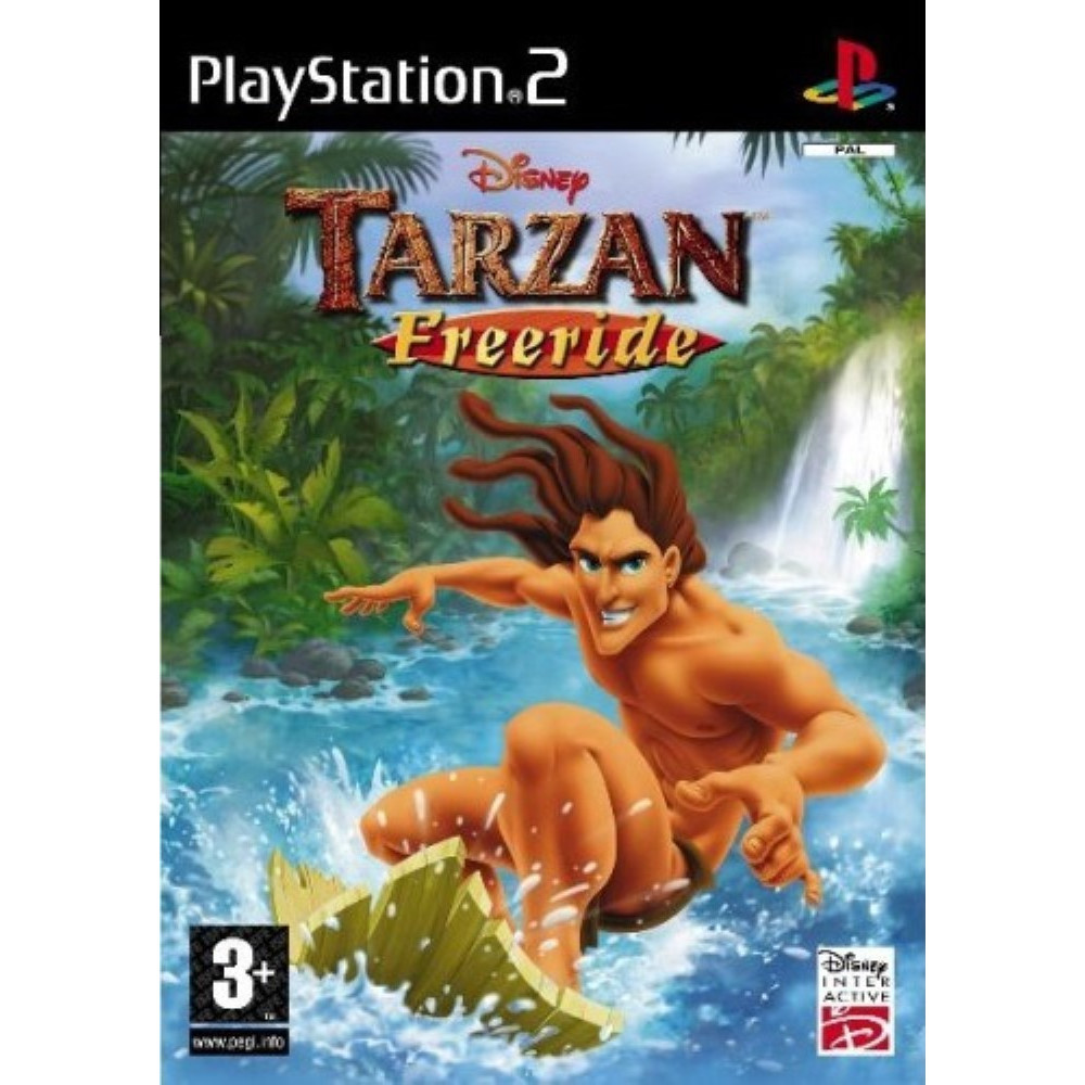 TARZAN FREERIDE PS2 PAL-FR OCCASION