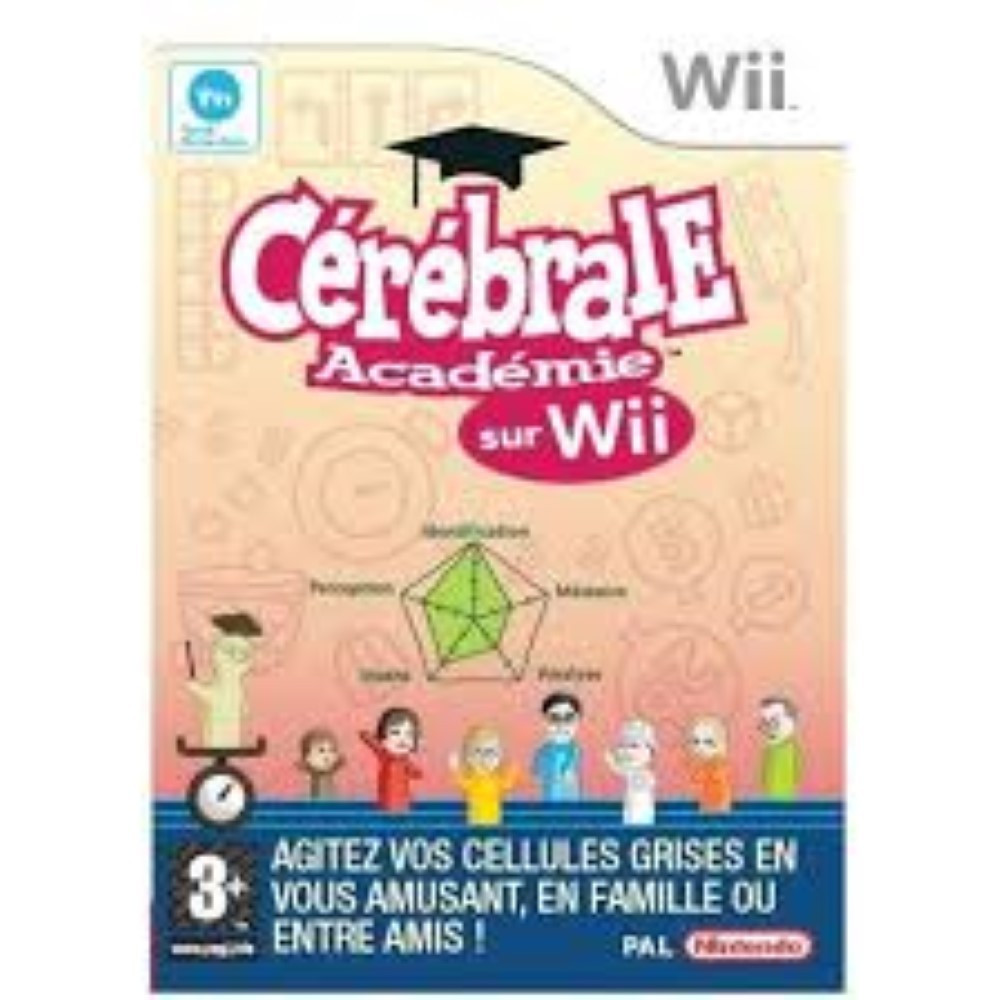 CEREBRALE ACADEMIE WII PAL-FR OCCASION