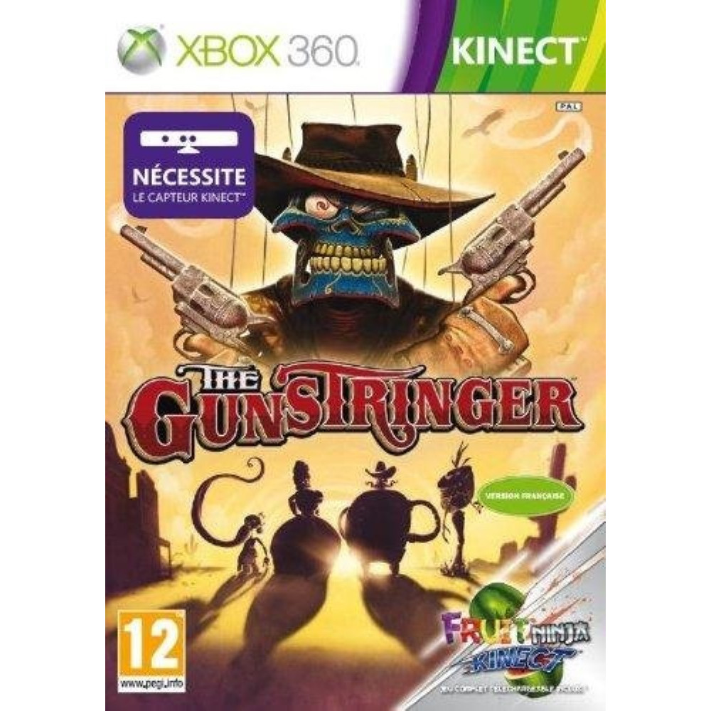 THE GUNSTRINGERS (KINECT) XBOX 360 PAL-FR OCCASION