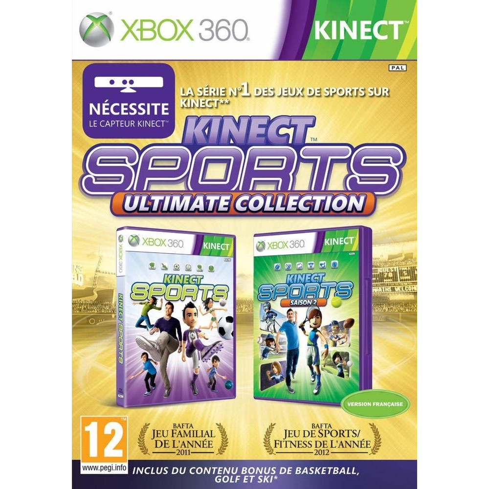 KINECT SPORTS ULTIMATE XBOX 360 PAL-FR OCCASION