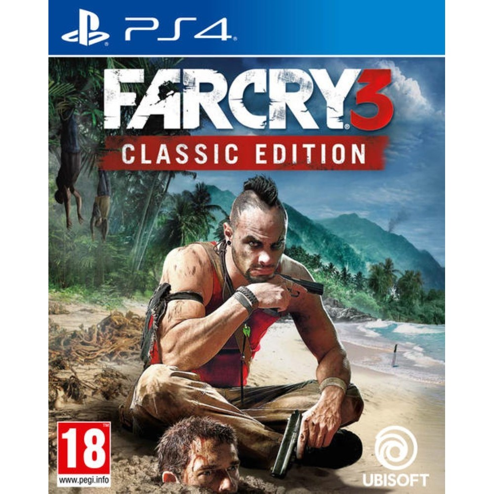 FARCRY 3 CLASSIC EDITION PS4 UK NEW