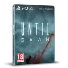 UNTIL DAWN STEELBOOK PS4 UK OCCASION