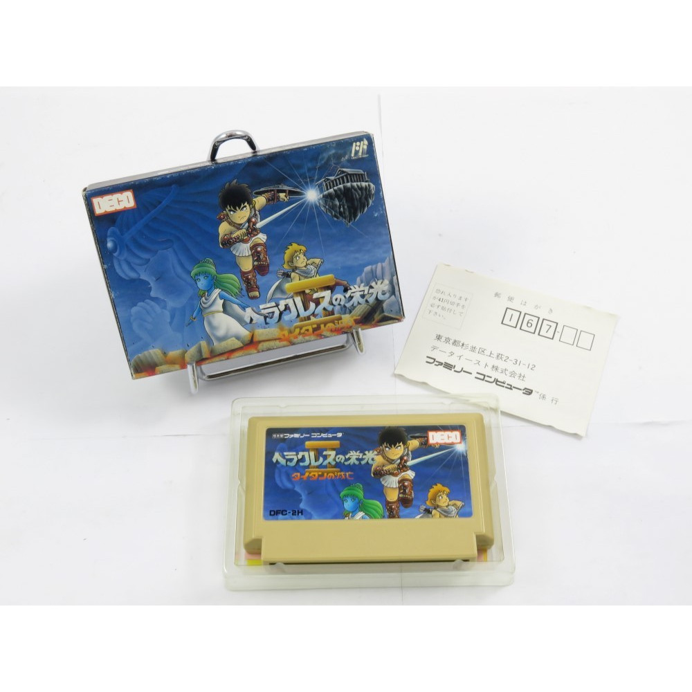 HERCULES OF GLORY 2 FAMICOM NTSC-JPN OCCASION (SANS NOTICE)
