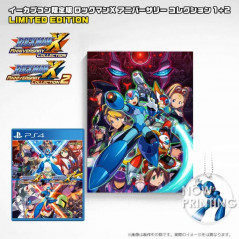 ROCKMAN X ANNIVERSARY COLLECTION 1+2 E-CAPCOM CAMPAS LIMITED EDITION PS4 JPN NEW
