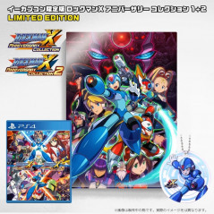 ROCKMAN X ANNIVERSARY COLLECTION 1+2 E-CAPCOM ACRYLIC ART LIMITED EDITION PS4 JPN NEW
