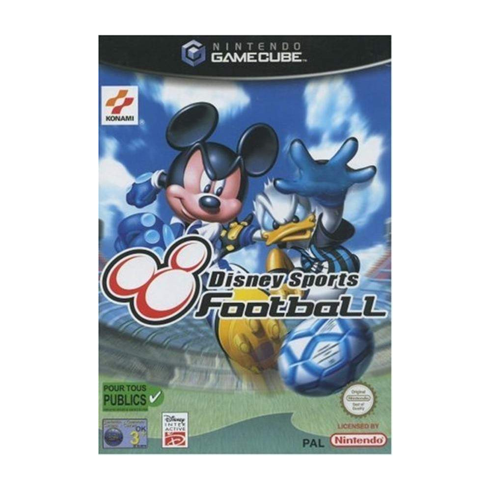 DISNEY SPORTS FOOTBALL GAMECUBE PAL-EURO OCCASION