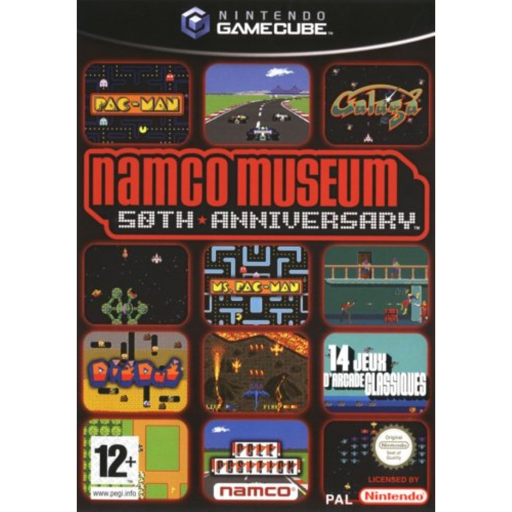 NAMCO MUSEUM 50 TH ANNIVERSARY GAMECUBE PAL-FR OCCASION (ETAT B)