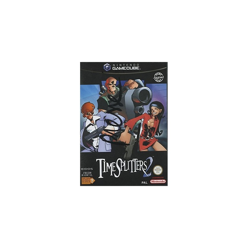 TIME SPLITTERS 2 GAMECUBE PAL-FRA OCCASION