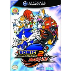 SONIC ADVENTURE 2 BATTLE GAMECUBE PAL-FRA OCCASION