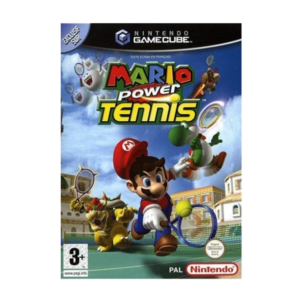 MARIO POWER TENNIS GAMECUBE PAL-FRA OCCASION