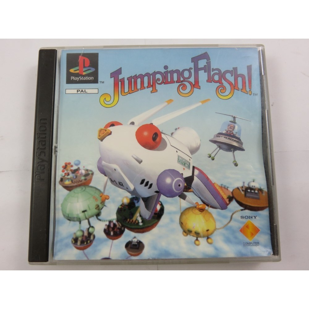 JUMPING FLASH PS1 PAL-EURO OCCASION
