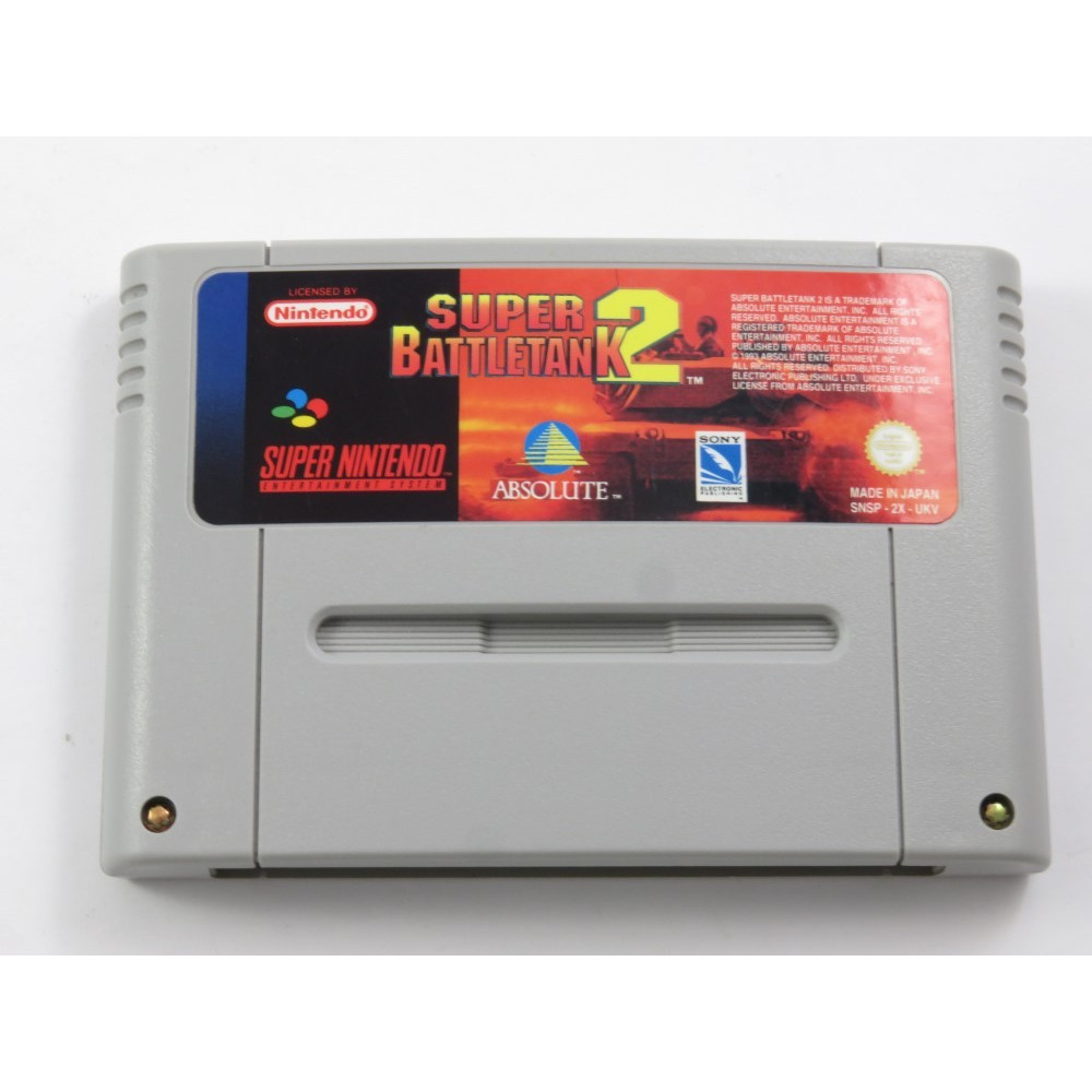 SUPER BATTLETANK 2 SNES PAL-UKV LOOSE
