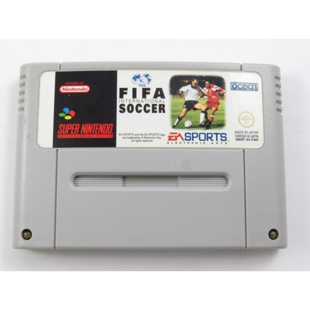FIFA INTERNATIONAL SOCCER SNES PAL-FAH LOOSE(ETAT B)