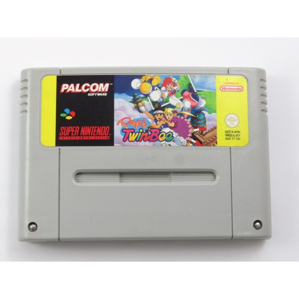 POP N TWIN BEE SUPER NINTENDO (SNES) PAL-FAH (CARTRIDGE ONLY - GOOD CONDITION)