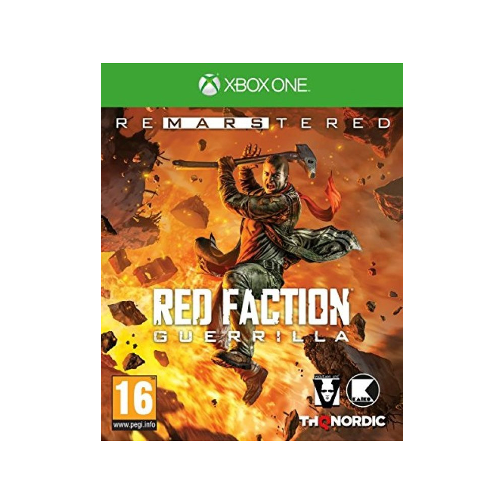 RED FACTION GUERILLA REMASTERED XBOX ONE EURO FR OCCASION