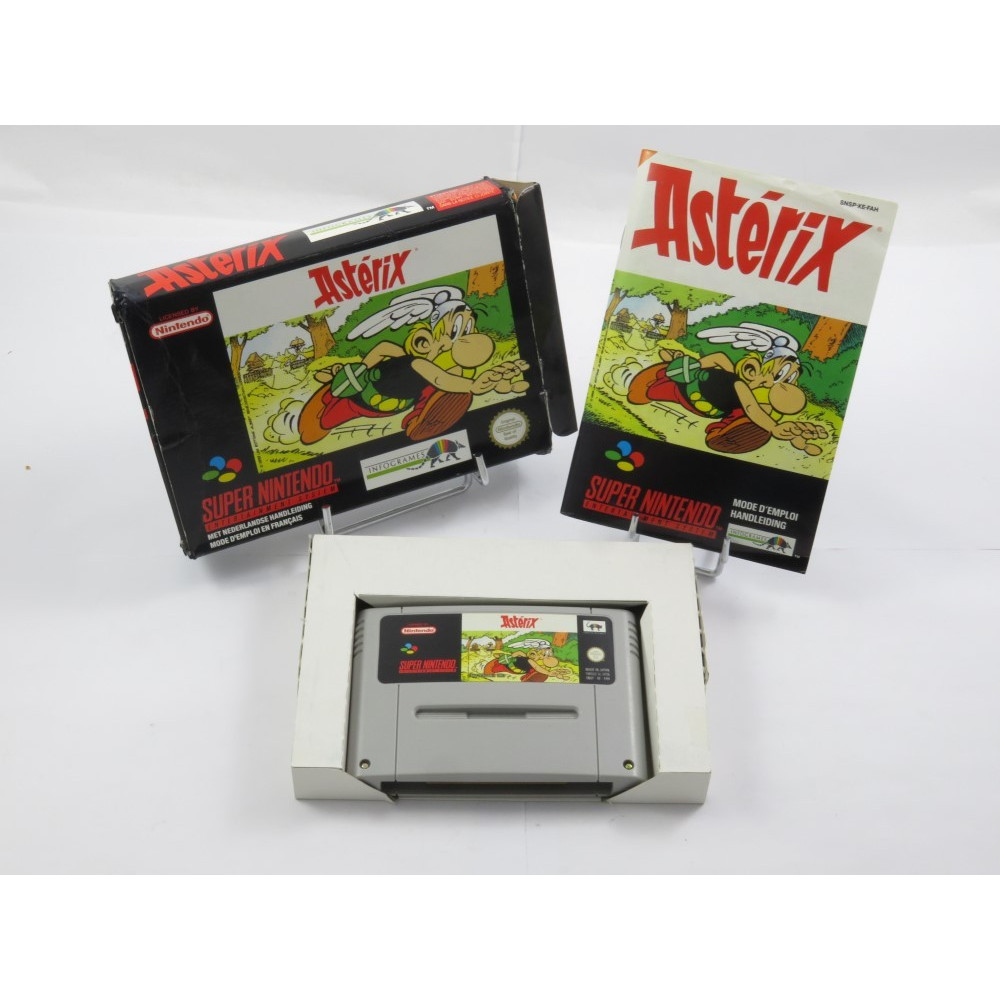 ASTERIX SNES PAL-FAH OCCASION