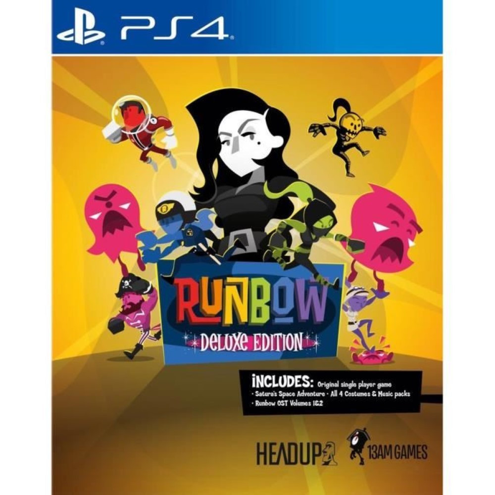 RUNBOW DELUXE EDITION PS4 FR NEW