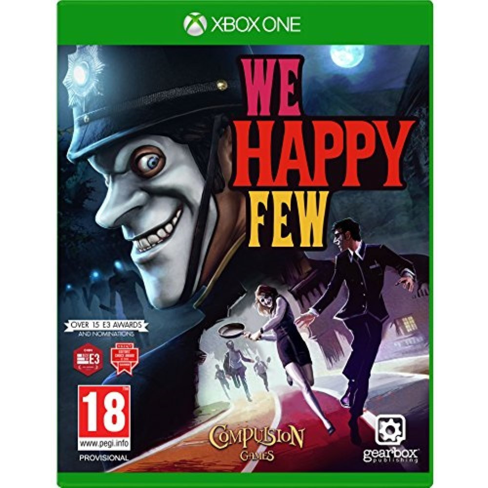 WE HAPPY FEW XONE UK NEW