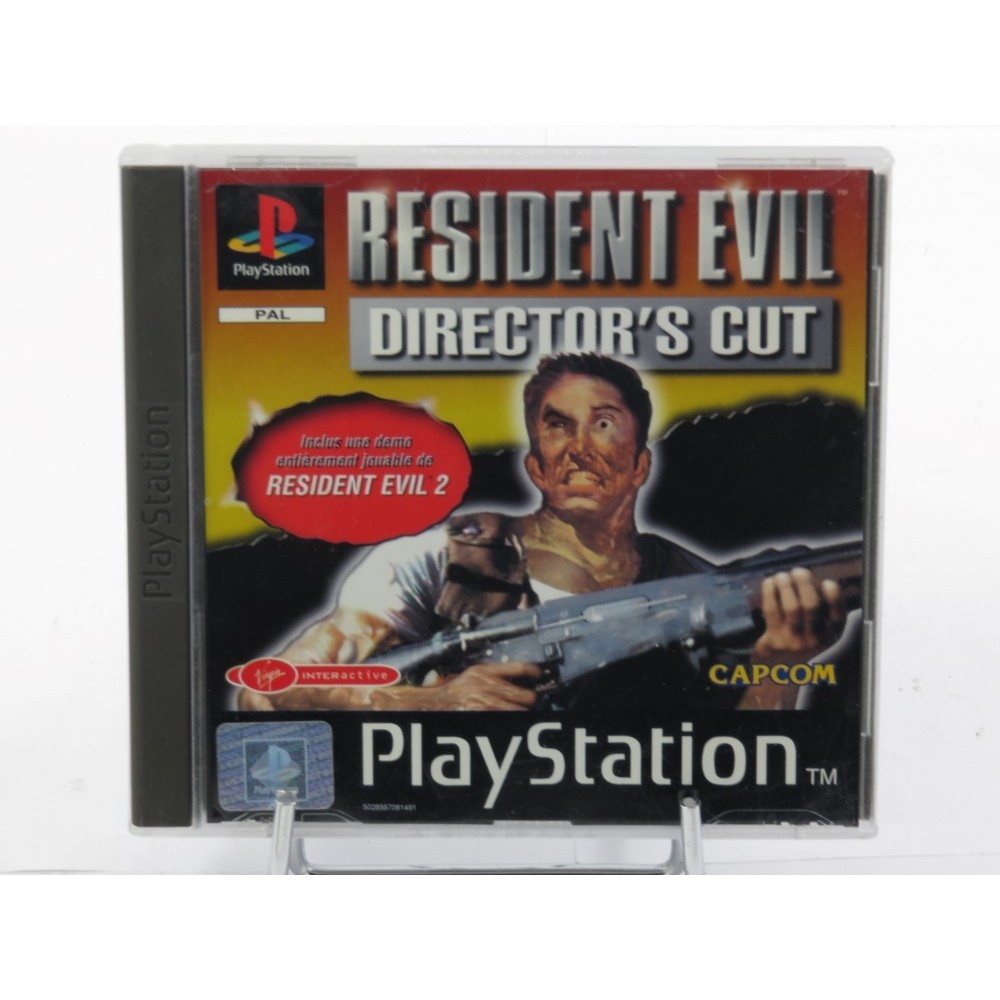 RESIDENT EVIL DIRECTOR'S CUT PS1 PAL-FR OCCASION