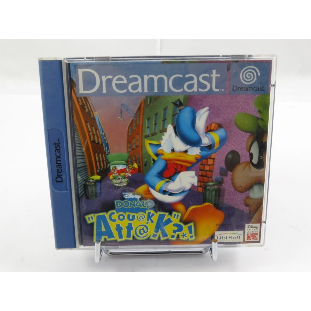 DISNEY DONALD COUAK ATTAK DREAMCAST PAL-FR OCCASION