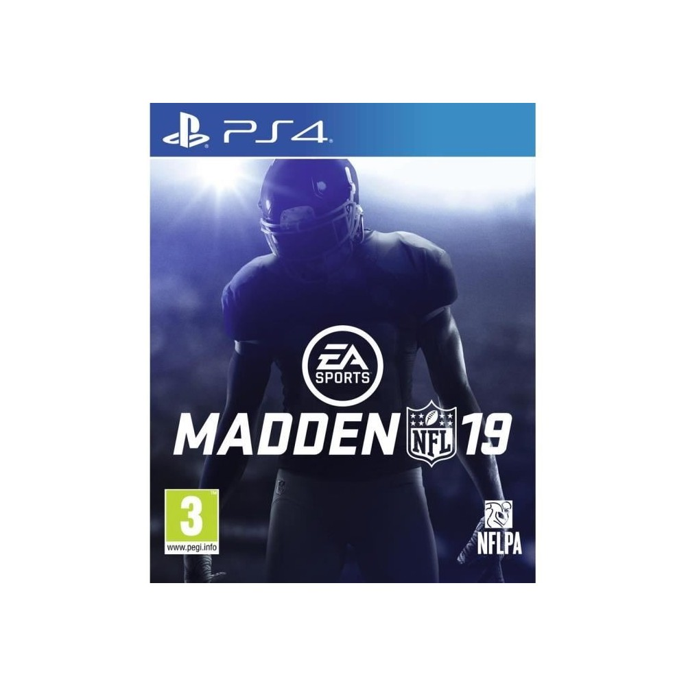 MADDEN NFL 2019 PS4 FR NEW