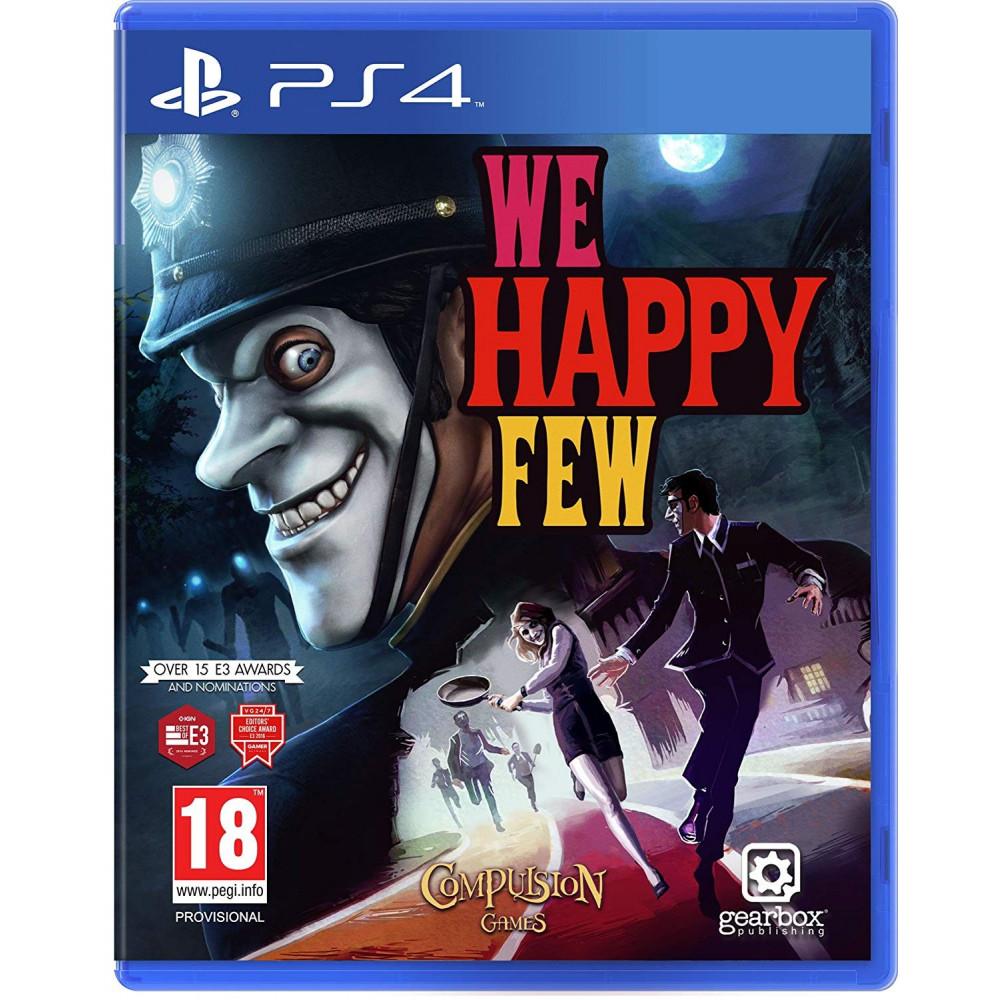 WE HAPPY FEW PS4 FR NEW