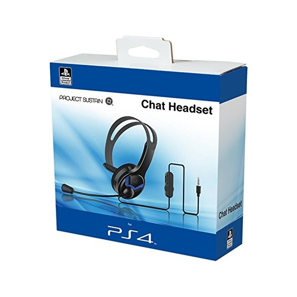 CASQUE CHAT HEADSET PROJECT SUSTAIN PS4 NEW