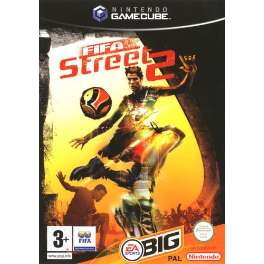 FIFA STREET 2 GAMECUBE PAL-FRA OCCASION