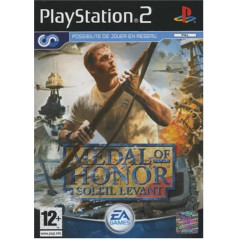 MEDAL OF HONOR SOLEIL LEVANT PS2 PAL-FR OCCASION(ETAT B)