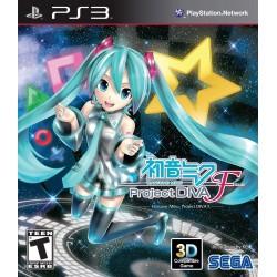 HATSUNE MIKU: PROJECT DIVA F PS3 US NEW