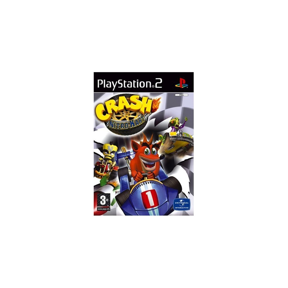 CRASH NITRO KART PS2 PAL-FR OCCASION