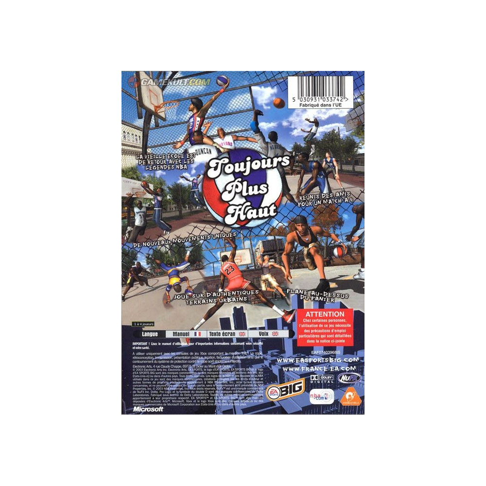 NBA STREET VOL 2 PS2 PAL-FR OCCASION