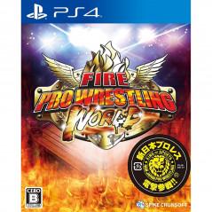 FIRE PRO WRESTLING WORLD PS4 JPN NEW