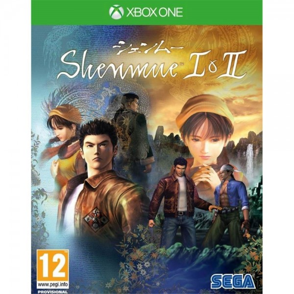 SHENMUE 1+2 XONE d-one PAL FR NEW