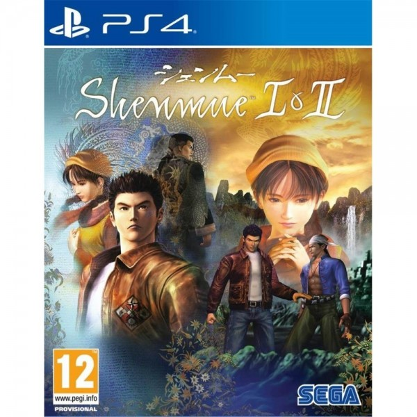 SHENMUE I & II PS4 UK NEW