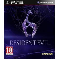 RESIDENT EVIL 6 PS3 FR OCCASION