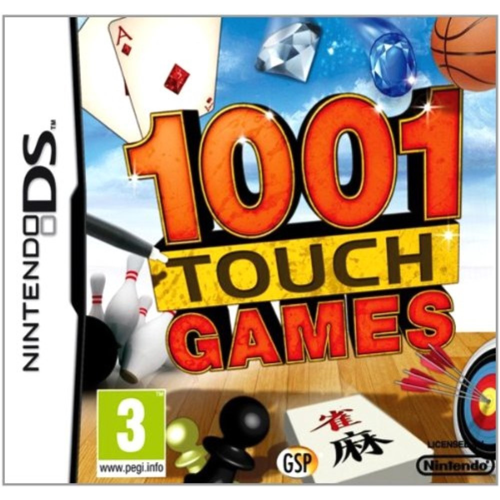 1001 FUN GAMES NDS FRA OCCASION