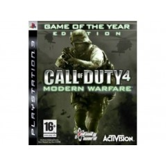 CALL OF DUTY 4 MODERN WARFARE JEU DE L'ANNEE EDITION PS3 FR OCCASION