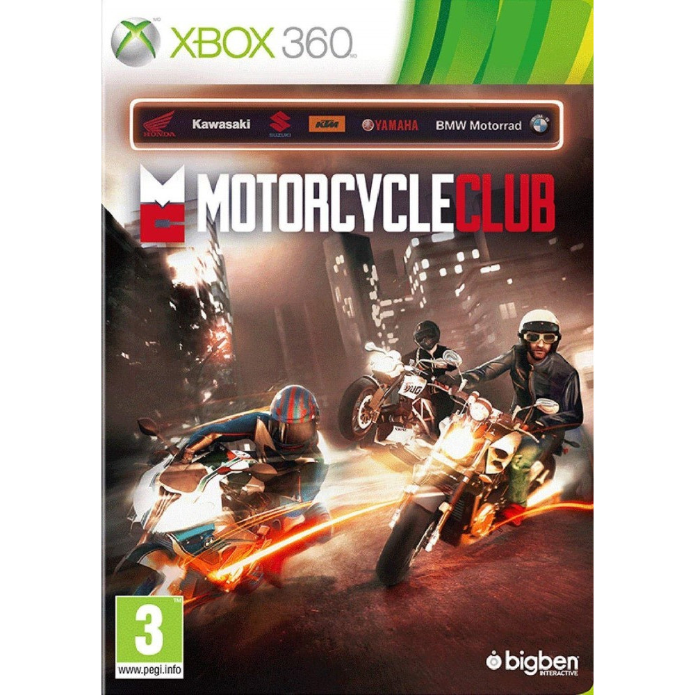 MOTORCYCLE CLUB XBOX 360 PAL-EURO OCCASION