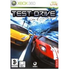 TEST DRIVE UNLIMITED XBOX 360 PAL-FR OCCASION