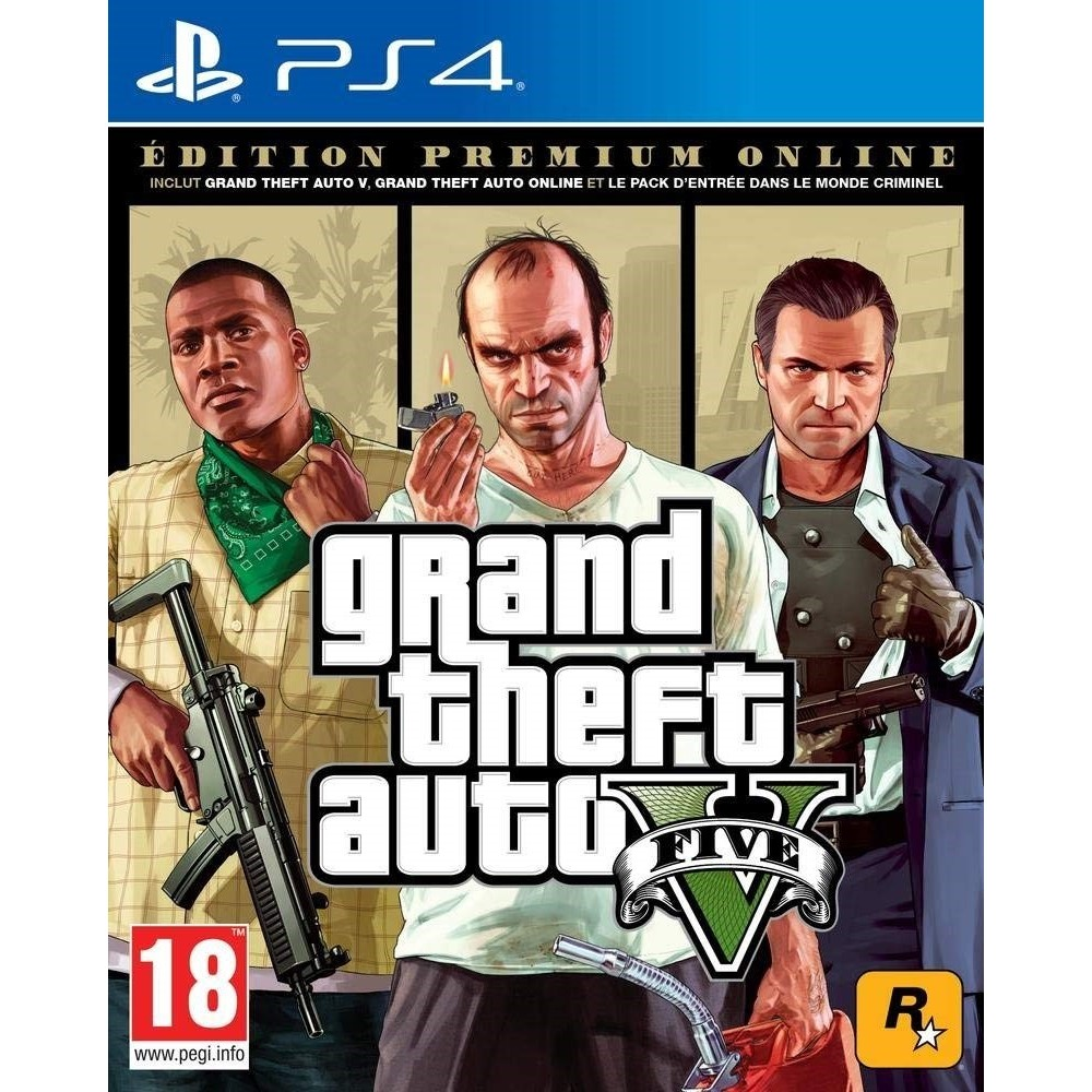 GTA V PREMIUM EDITION PS4 FR OCCASION