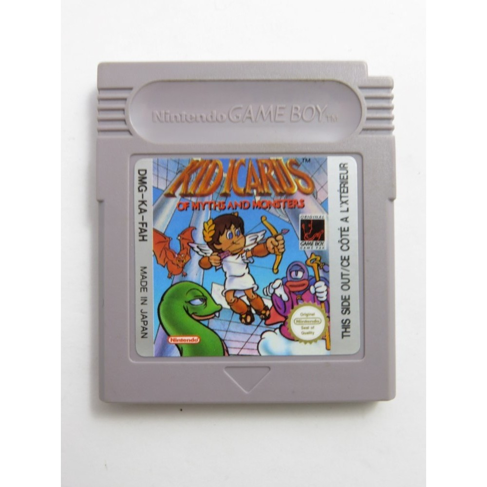 KID ICARUS OF MYTHS AND MONSTERS GAMEBOY FAH LOOSE (ETAT B)