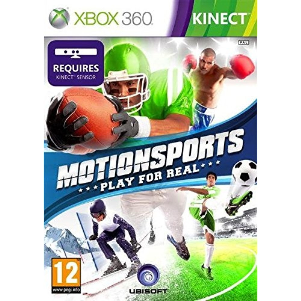 MOTION SPORTS KINECT XBOX 360 PAL-FR OCCASION