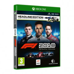 F1 2018 HEADLINE EDITION XBOX ONE UK NEW