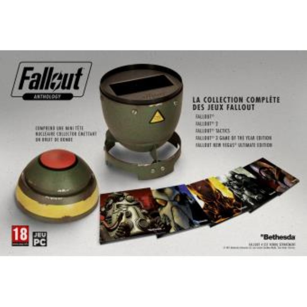 FALLOUT ANTHOLOGY ULTIMATE EDITION PC FR OCCASION